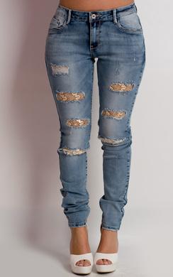 Alyssa Ripped Skinny Jeans