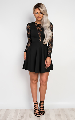 Annest Lace Skater Dress