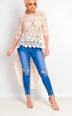 Lia Crochet Top