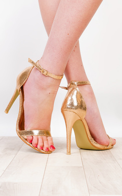 Kristie Foiled High Heels