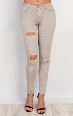 Lacey Ripped Skinny Jeans