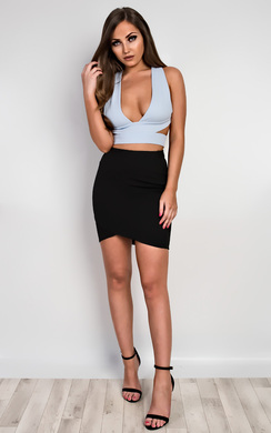 Sassa Cross-Strap Crop Top