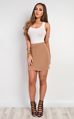 Brihanna Basic Mini Skirt