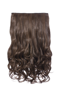 Intense Volume Clip In Hair Extensions - Curly Brunette