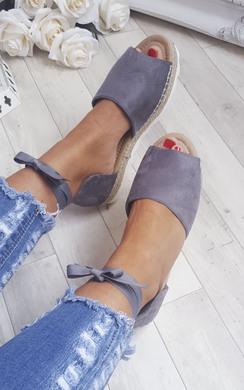 Kiaya Strappy Wedge Sandals