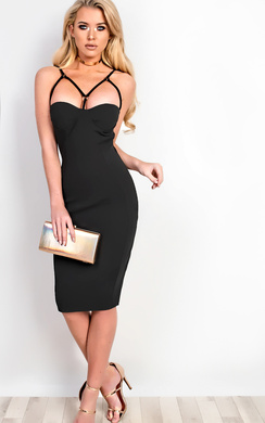 Mylah Strappy Bodycon Dress