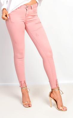Carmela Skinny Distressed Jeans