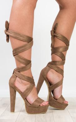 Echo Tie-Up High Heels