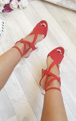 Skylyn Faux Suede High Heels