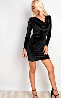 Dash Velvet Dress