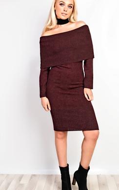 Rowan Off Shoulder Bodycon Dress