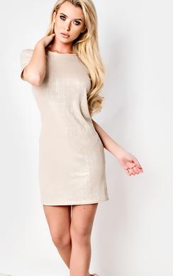 Florence Ribbed Mini Dress