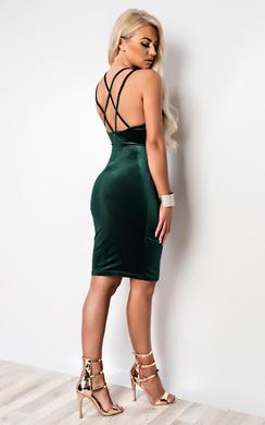 Edita Strappy Bodycon Dress