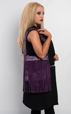Azeena Fringed Handbag