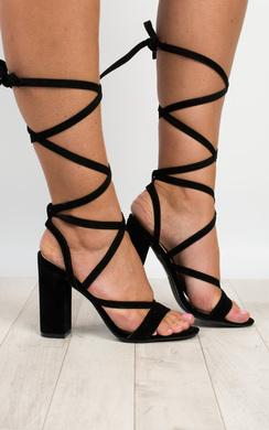Veera Strappy Block Heels
