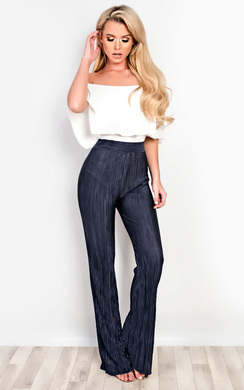 Valentina Ribbed Trousers