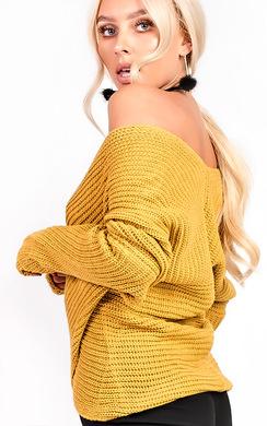 Josie Wrap Knit Jumper