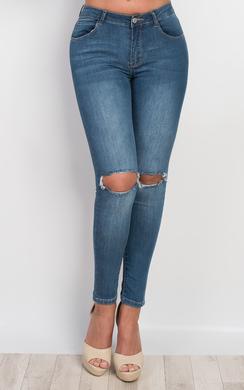 Nabile Ripped Skinny Jeans