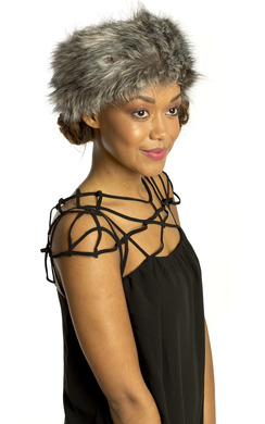 Niya Faux Fur Headband