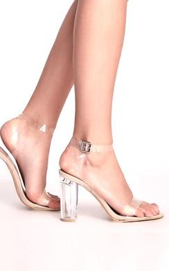 Emma Clear High Heels