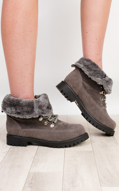 Kiana Faux Suede Boots