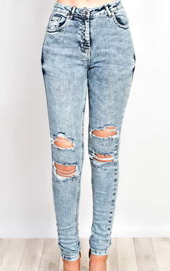 Carlem Ripped Jeans