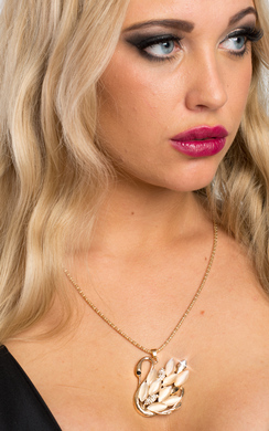 Emelina Swan Design Necklace