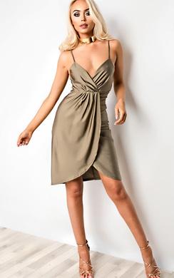 Ariane Gathered Bodycon Dress