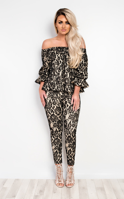 Dulce Floral Lace Co-Ord