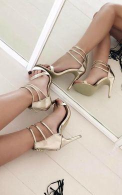 Robyn Strappy High Heels