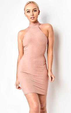 Ellie Ribbed Mini Dress