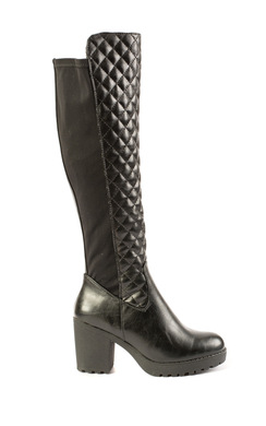 Daya Knee High Quilted Boots