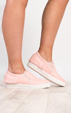 df7b8e356c9 Veera Strappy Block Heels In Fuschia
