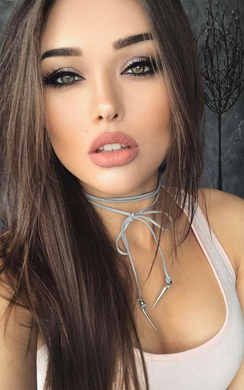 Imia Grey Suede Tie Up Choker