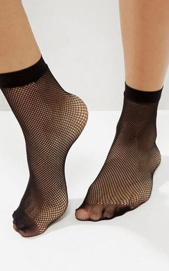 Jamie Fishnet Socks
