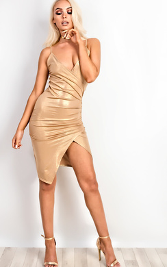Luciana Gathered Bodycon Dress