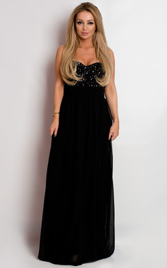 Essa Strapless Evening Dress