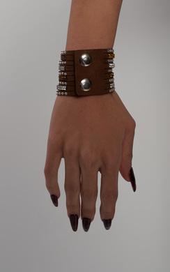 Alabama Diamante Wrap Bracelet