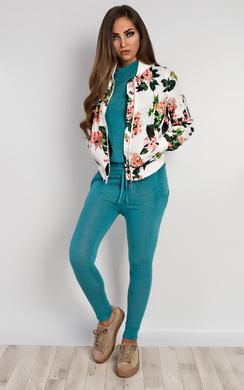 Adabelle Floral Bomber Jacket