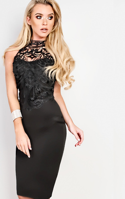 Ayana Lace Bodycon Dress