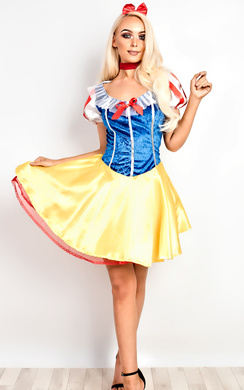 Snow White Fancy Halloween Dress