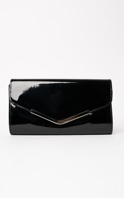Nerissa Metallic Envelope Clutch Bag