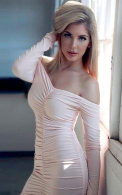 Nicola Ruched Bodycon Dress