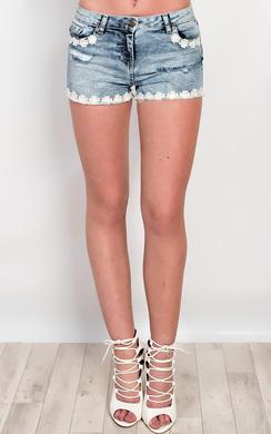 Eder Denim Hotpant Shorts