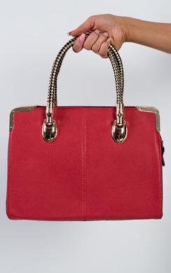 Evaine Gold Detail Handbag
