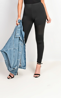 Valora PU Panel Leggings