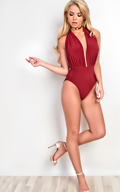 Anastasia Halterneck Bodysuit