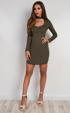 Juniper V Neck Bodycon Dress