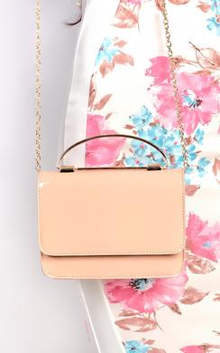 Elisha Patent Clutch Bag