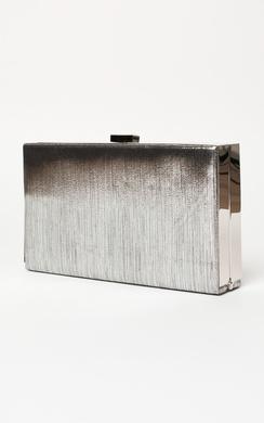 Liara Metallic Clutch Bag